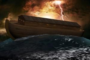 Nước lụt và Chiếc tàu hình hộp